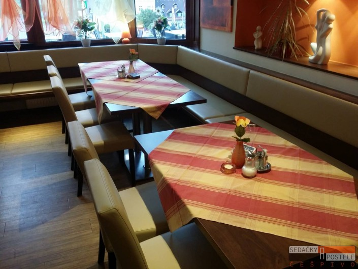 Lavice do kavárny XELA 02