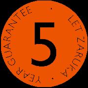 5 let odznak crop